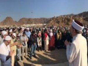 Diyanet İşleri Başkanı Erbaş Uhud'da gençlerle buluştu