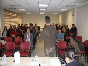 Gümrük personeline eğitim semineri verildi