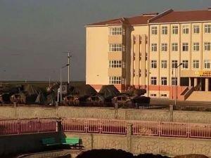Tanklar Nusaybin'de konuşlandırıldı