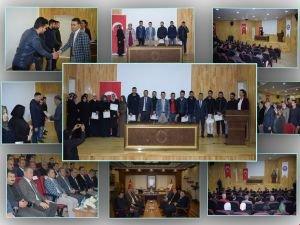 Kozluk'ta 30 kişiye ''KOSGEB Girişimcilik'' belgesi verildi