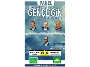 """Diyarbakır'da """"Türkiye'nin Geleceğinde Gençliğin Sorumluluğu"""" paneli düzenlenecek"""