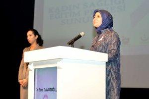 Sare Davutoğlu: Bizler kadınlar olarak kendimizi ihmal etmemeliyiz