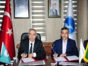 YYÜ ile Urmiye Üniversitesi arasında işbirliği protokolü