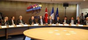 Erdoğan, Fransız İşverenler Örgütü MEDEF üyelerine hitap etti