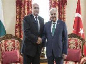 Başbakan Yıldırım Bulgaristan Başbakanı Borisov bir araya geldi