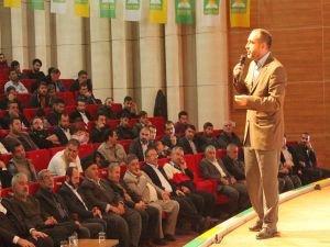 HÜDA PAR Antalya 1'inci Olağan Kongresi yapıldı