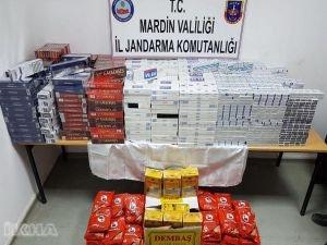 Savur'da kaçakçılık operasyonları