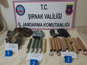 Şırnak'ta PKK'ya ait mühimmat bulundu