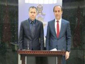 Gaziantep Valisi Şanlıurfa Valiliğini ziyaret etti