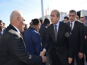 Mehdi Eker'den Nasıroğlu ailesine taziye ziyareti
