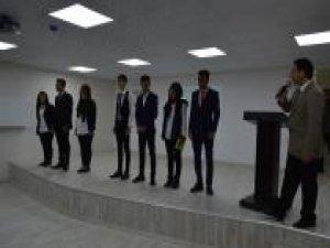 """Liseli öğrencilerden """"Kudüs"""" konulu şiir dinletisi"""