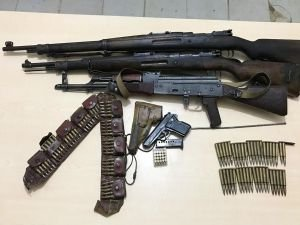 Bitlis'te PKK'ya ait mühimmat ele geçirildi