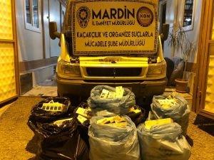 Mardin'de kaçakçılık operasyonları
