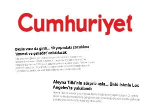 Cumhuriyet: Tilki'ye hoşgörü, kuzulara kurt!