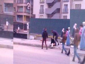 'Taciz iddiası' mahalleyi ayağa kaldırdı