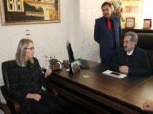 Meclis İdare Amiri Çankırı'dan gazetecilere ziyaret