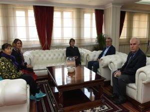 BM Türkiye Mukim Koordinatörü'nden Vali Ahmet Deniz'e ziyaret