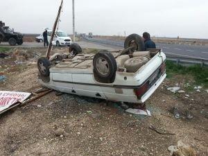 Viranşehir'de kaza: Bir yaralı