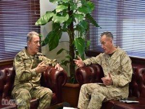 Genelkurmay Başkanı Orgeneral Akar ABD'li mevkidaşıyla görüşecek
