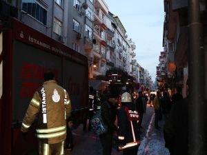 Patlayan elektrik trafosu yangına neden oldu