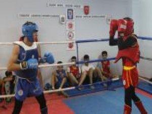 Şırnaklı boksörler Wushu Türkiye şampiyonasına hazırlanıyor