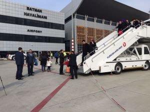 Batman'da 52 bin kişi uçakla seyahat etti