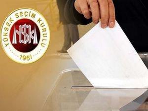 YSK: Seçime 9 parti katılabilecek