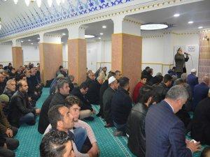 Siirt'te sauna olarak tasarlanan iş yeri camiye dönüştürüldü