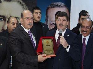 AK Parti Diyarbakır il başkanlığında devir teslim töreni yapıldı