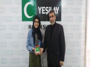 Yeşilay'ın kampanyasına anlamlı destek