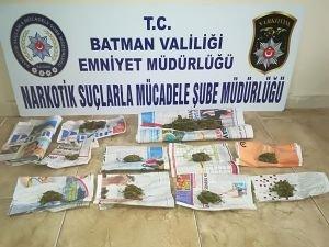Batman'da uyuşturucudan 2 kişi gözaltına alındı