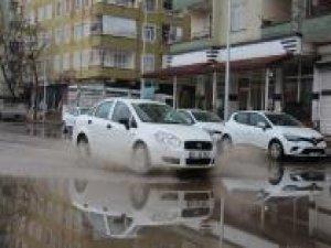 Diyarbakır'da yağış etkili oldu