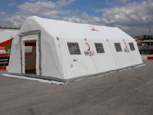 Yanardağ mağduru çocukların eğitim çadırı Kızılay'dan