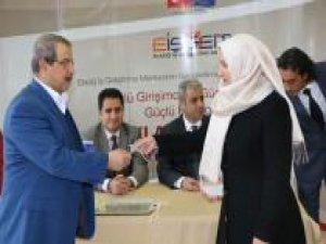 İŞGEM'de ilk girişimcilere anahtarları teslim edildi