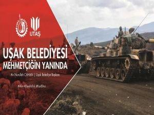 Uşak Belediyesi Sınıra Zeytin Dalı uzattı