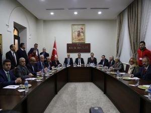 Sivil toplum kuruluşları ve iş dünyası temsilcilerinden Kilis'te ortak açıklama