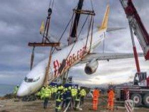 Pistten çıkan uçak kültür ve sanata hizmet edecek