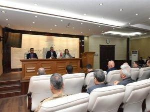 İl İdare Şube Başkanları Toplantısı Vali Deniz başkanlığında yapıldı