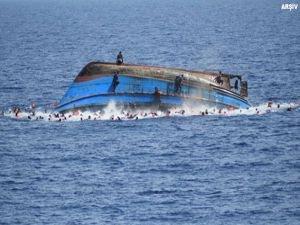 Libya'da Göçmen Teknesi Faciası: 90 ölü