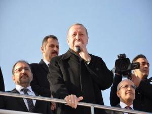 Cumhurbaşkanı Erdoğan Batman'da