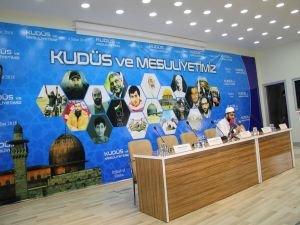 'Kudüs ve Mesuliyetimiz' paneli başladı