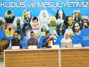 """""""Kudüs ve Mesuliyetimiz"""" paneli sona erdi"""