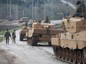 Afrin'e askeri sevkiyat yapıldı