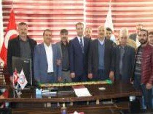 Nusaybin ESO'da yeni başkan görevi devraldı