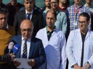 Doktorun darp edilmesine meslektaşlarından sert tepki