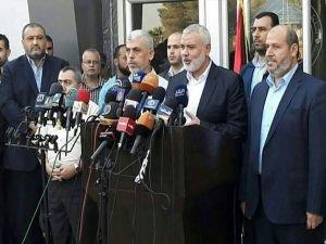 Hamas Lideri Heniyye bir heyet başkanlığında Kahire'ye gitti 