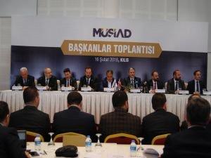 MÜSİAD Afrin Harekâtına Destek İçin Kilis'te Toplandı