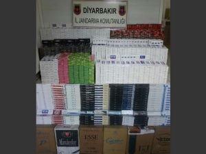 22 bin 220 paket kaçak sigara ele geçirildi