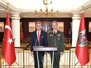 Yörük, Genelkurmay Başkanı Akar'ı ziyaret etti