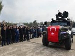 Diyarbakır'dan Özel Harekât Polisleri Afrin'e gönderildi